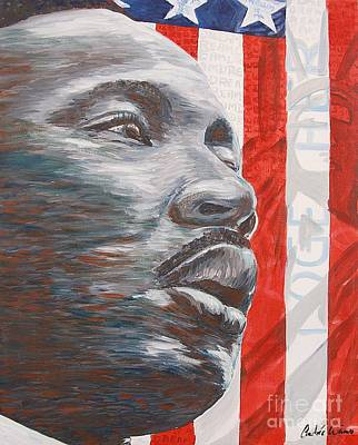 Martin Luther King Jr Painting - Dream by Andree Weimer
