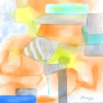 Digital Art - Dream Flight by D Perry