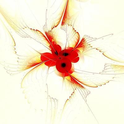 Dream Flower Print by Anastasiya Malakhova