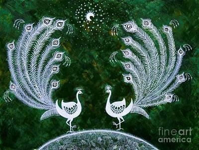Dream Land Print by Anjali Vaidya