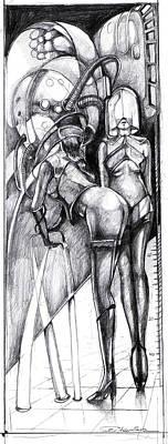 Dream Machine Print by Ertan Aktas