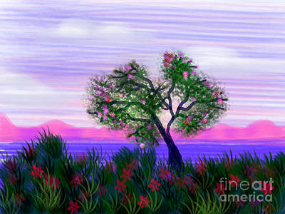 Dream Of Spring Print by Judy Via-Wolff