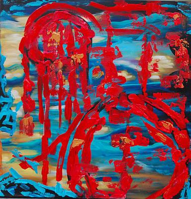 Dreamcatcher Painting - Dreamcatcher by Lauren Hammack