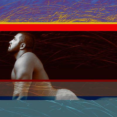 Nude Men Photograph - Dreamer 5 by Chris  Lopez
