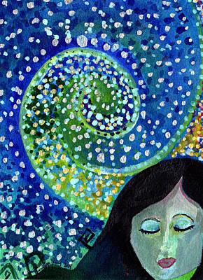 Dreaming Print by Jennifer Pavia