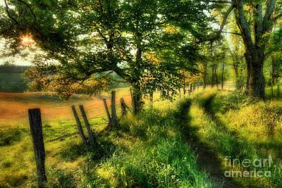 Dreaming Of Fall II - Blue Ridge Parkway Print by Dan Carmichael