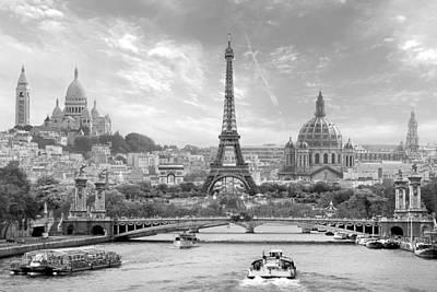 Napoleon Bonaparte Digital Art - Dreaming Of Paris by Teuni Stevense