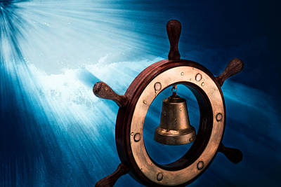 Gong Photograph - Dreaming Of The High Seas 1 by Alexander Senin
