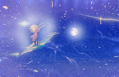 Universe Digital Art - Dreaming by Sherri  Of Palm Springs