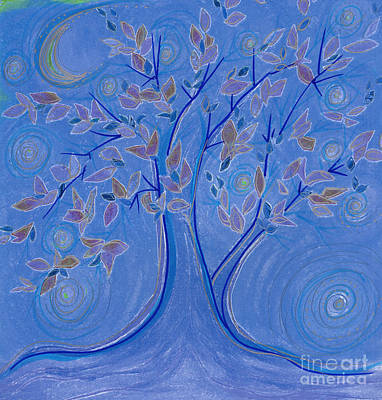 Dreaming Tree By Jrr Print by First Star Art
