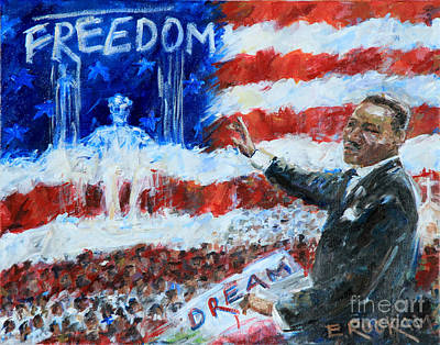 Dreams Of Freedom Original by Elizabeth Roskam