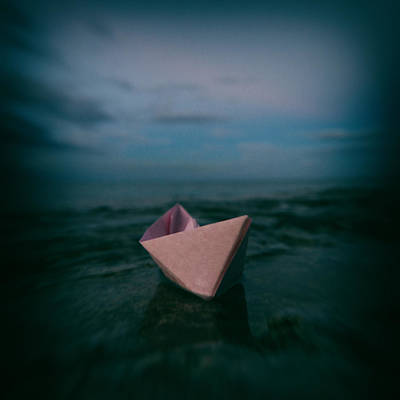 Toy Boat Photograph - Dreams by Stelios Kleanthous