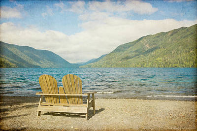 Empty Chairs Photograph - Dreamscape by Heidi Smith