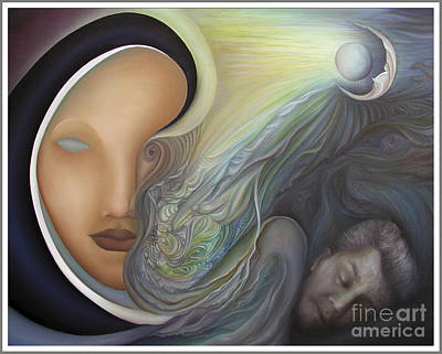 Curvilinear Painting - Dreamscape by Joanna Pregon