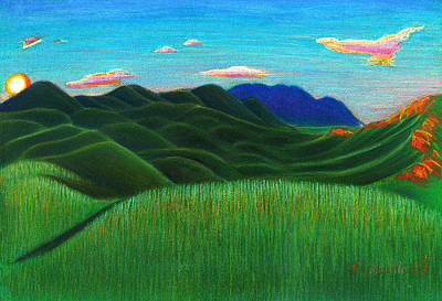 Dreamtime Print by Judith Chantler