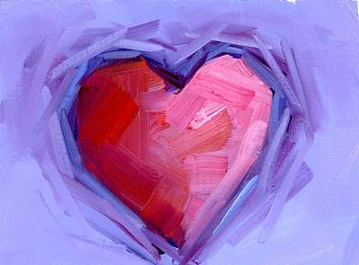 Painting - Dreamy Love by Mary Byrom