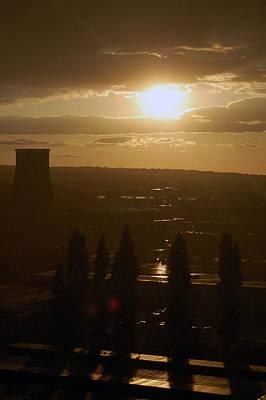 Dresden Photograph - Dresden At Sunset by Peter Cassidy