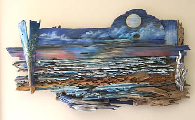 Painting - Drift Wood Art  by Virginia Bond