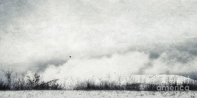 Drifting Snow Photograph - Drifting by Priska Wettstein