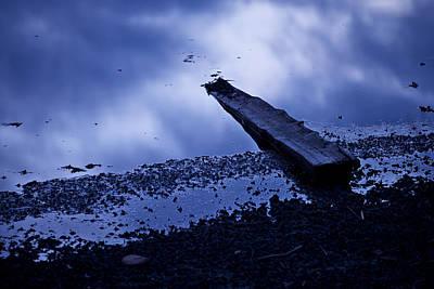 Rock Photograph - Driftwood by Ivan Slosar