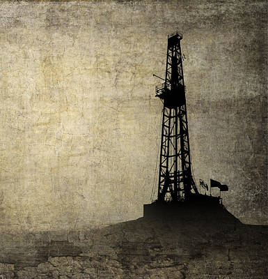 Drilling Isolation Print by Daniel Hagerman