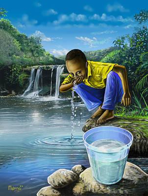 Draw And Drink Original by Anthony Mwangi