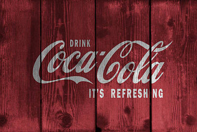 Drink Coca Cola Print by Daniel Hagerman
