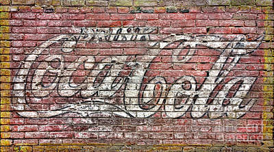 Coca Cola Sign Photograph - Drink Coca Cola by Olivier Le Queinec
