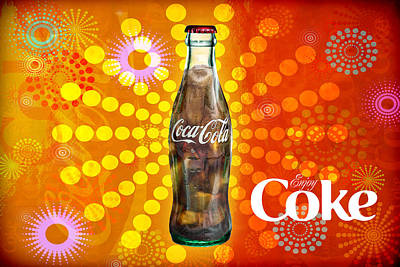 Pop Can Photograph - Drink Ice Cold Coke 4 by James Sage