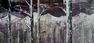 Dillon Painting - Dripping Aspen by Chad Rice