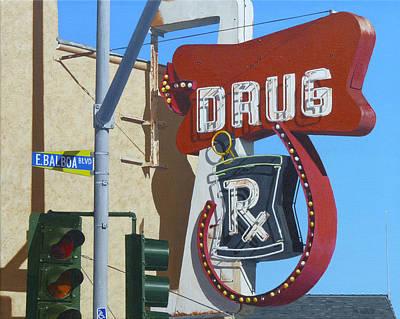 Drug Print by Michael Ward