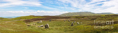 Druids Stone Circle Print by Amanda And Christopher Elwell