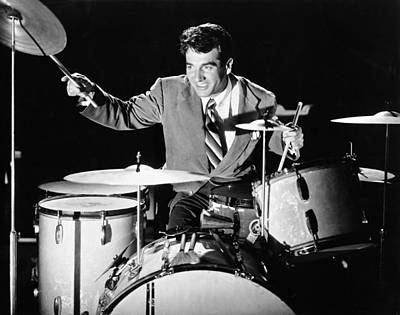 Drummer Gene Krupa Print by Underwood Archives