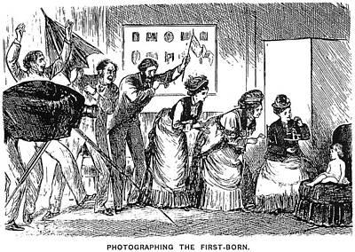 Du Maurier Cartoon, 1876 Print by Granger