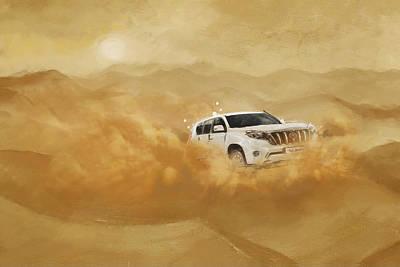 Souvenirs Painting - Dubai Safari  by Corporate Art Task Force