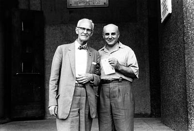 History Of Science Photograph - Dubinin And Plough by American Philosophical Society
