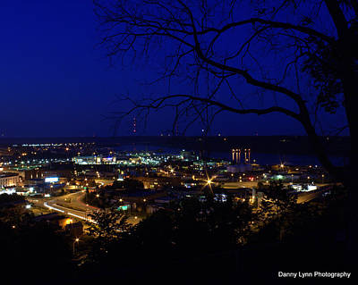 Photograph - Dubuque  Iowa by Dan  Dickerson