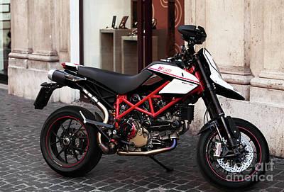 Ducati Motor Cross Print by John Rizzuto