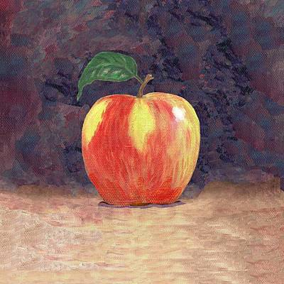 Duchess Apple Two Print by Linda Mears