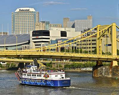 Duchess Cruise Pittsburgh Print by Frozen in Time Fine Art Photography