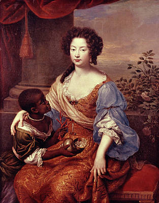 Duchess Of Portsmouth (1649-1734) Print by Granger