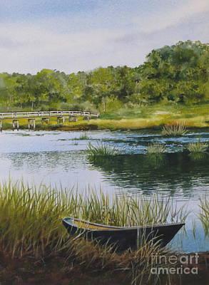 Duck Creek Print by Karol Wyckoff
