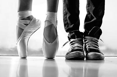 Dance Studio Photograph - Duet by Laura Fasulo