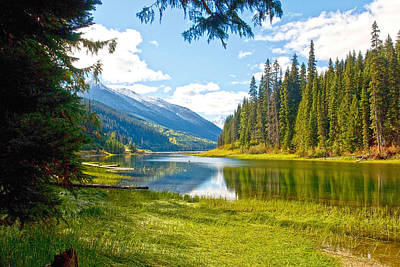 Duffy Lake 1 Print by Randy Giesbrecht