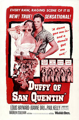 Duffy Of San Quentin, Us Poster, Top Print by Everett