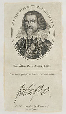 Eliza Photograph - Duke Of Buckingham by British Library