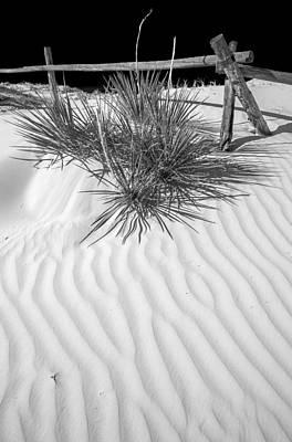 Dune And Black Sky Print by Arkady Kunysz