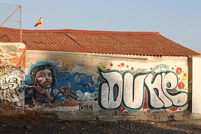 Dune Boathouse Print by Jan Katuin