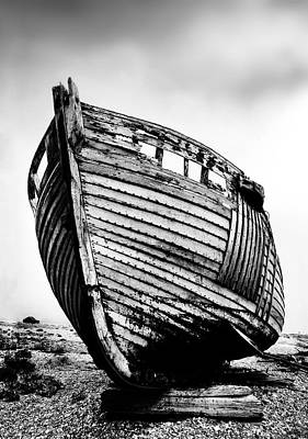 Boat Three Print by Mark Rogan