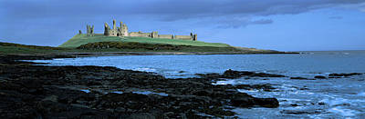 Dunstanburgh Photograph - Dunstanburgh Castle At The Coast by Panoramic Images